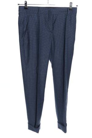 Prada Spodnie materiałowe niebieski Na całej powierzchni W stylu biznesowym