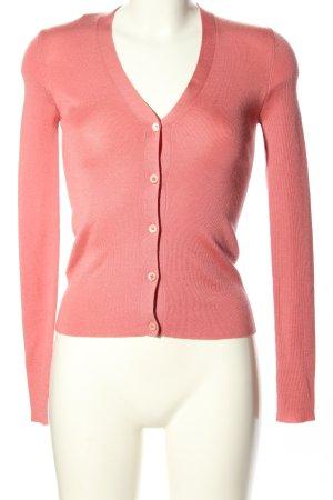 Prada Strick Cardigan pink Casual-Look
