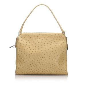 Prada Struzzo Handbag