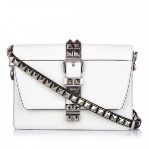 Prada Studded Leather Elektra
