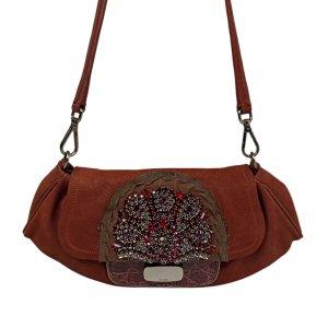 Prada Studded Leather Shoulder Bag