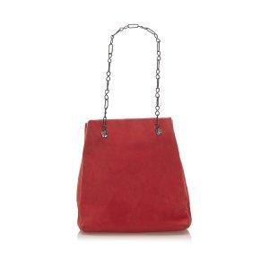 Prada Suede Chain Shoulder Bag