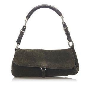 Prada Suede Handbag