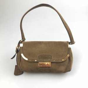 Prada Suede Shoulder Bag