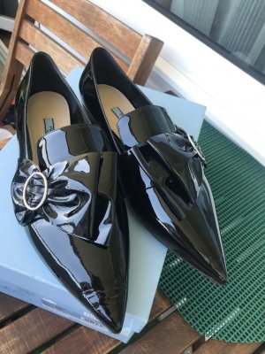 Prada Slippers black leather