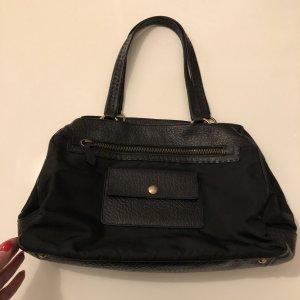 Prada Shoulder Bag black-gold-colored
