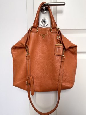 Prada Sac seau orange-orange clair