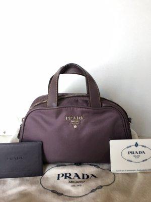 Prada Tasche Lila Nylon Leder