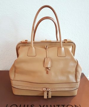 Prada Doctor's Briefcase gold-colored-beige