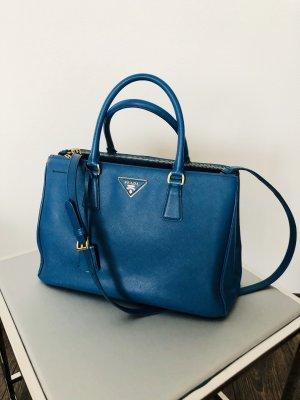 Prada Bolso de compra azul-azul aciano