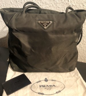 Prada Tasche Vintage Nylon dunkelbraun
