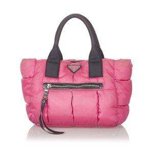 Prada Tessuto Bomber Handbag
