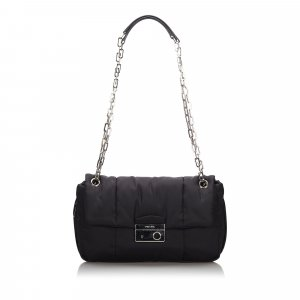 Prada Tessuto Bomber Shoulder Bag