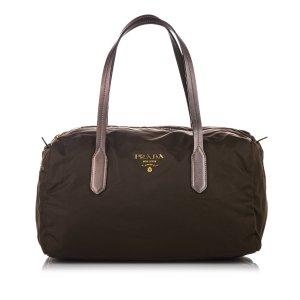 Prada Tessuto Boston Bag
