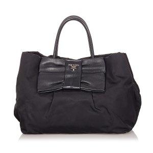 Prada Tessuto Bow Handbag