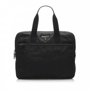 Prada Business Bag black nylon