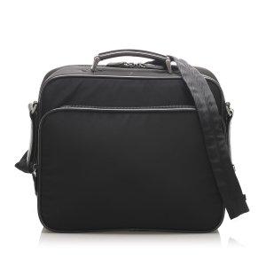 Prada Business Bag black nylon