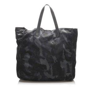 Prada Tessuto Camouflage Tote Bag