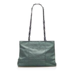 Prada Tessuto Chain Shoulder Bag