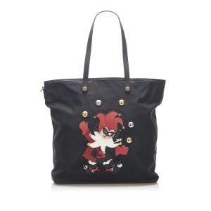 Prada Tessuto Clown Tote Bag