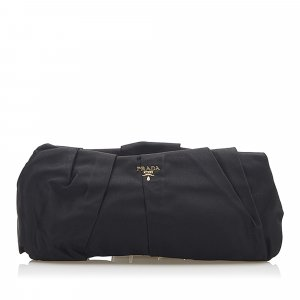 Prada Clutch black nylon
