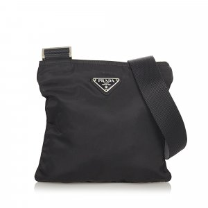 Prada Sac bandoulière noir nylon