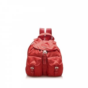 Prada Tessuto Drawstring Backpack