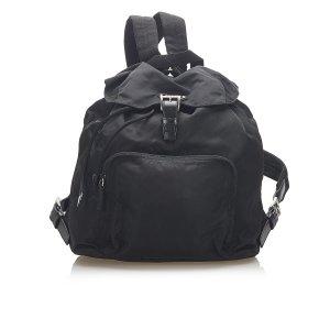 Prada Plecak czarny Nylon