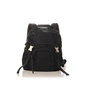 Prada Tessuto Drawstring Backpack