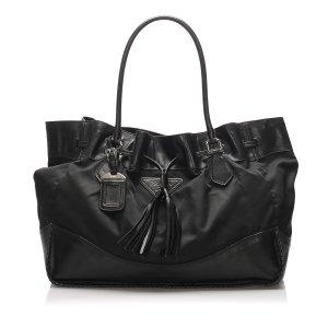 Prada Tessuto Drawstring Shoulder Bag