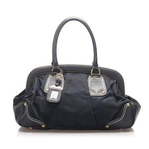 Prada Tessuto Frame Handbag
