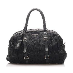 Prada Tessuto Gaufre Handbag