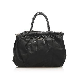 Prada Satchel zwart Nylon