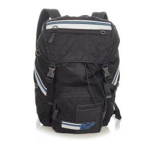 Prada Tessuto Impuntu Racer Backpack