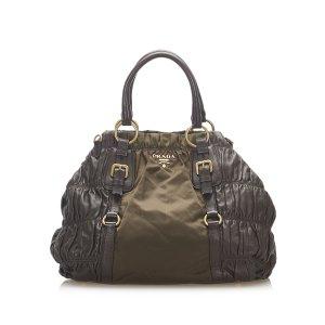 Prada Tessuto Nappa Gaufre Handbag