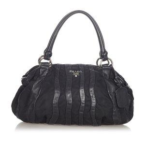 Prada Tessuto Nappa Waves Handbag