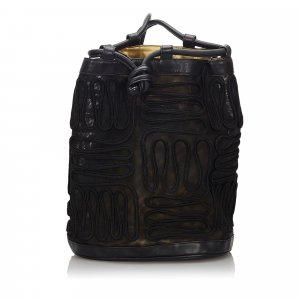Prada Tessuto Nylon Drawstring Backpack