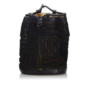Prada Tessuto Nylon Drawstring Backpack