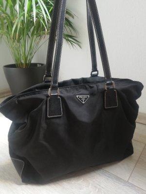Prada Shopper zwart Nylon