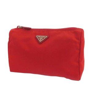 Prada Sac seau rouge nylon