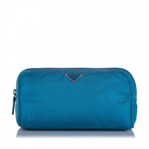 Prada Sac seau bleu clair nylon