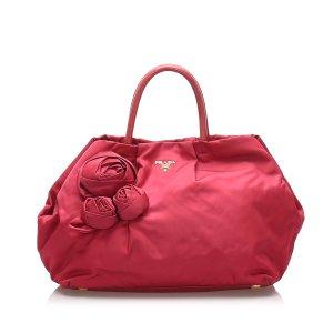 Prada Tessuto Rose Handbag