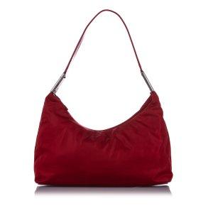 Prada Schoudertas rood Nylon