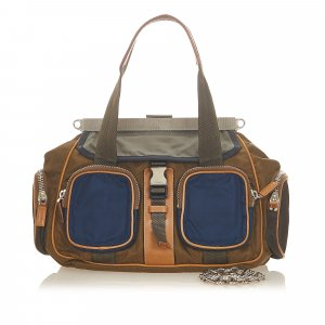 Prada Shoulder Bag brown nylon