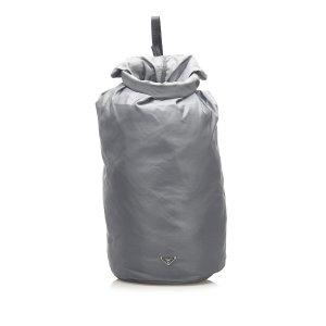 Prada Plecak zielony Nylon