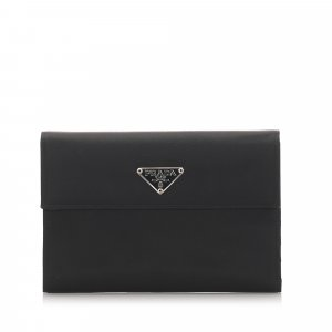 Prada Cartera negro Nailon
