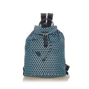 Prada Zaino blu Nylon