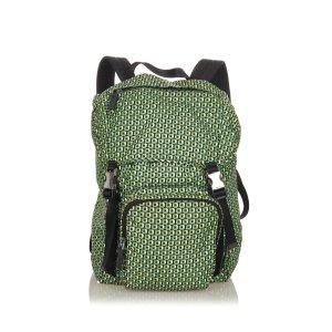 Prada Zaino verde Nylon