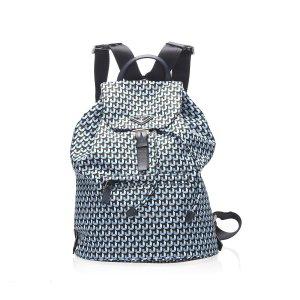 Prada Backpack blue nylon