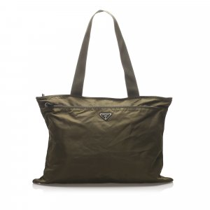 Prada Travel Bag khaki nylon